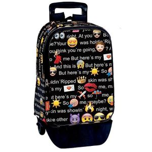 CARTABLE Sac à dos à roulettes Emoji Talk 42 CM trolley Hau