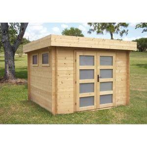 abri de jardin bois achat vente abri de jardin bois pas cher cdiscount. Black Bedroom Furniture Sets. Home Design Ideas