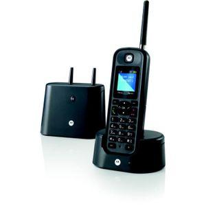 Téléphone fixe Téléphone MOTOROLA Motorola O201 noir
