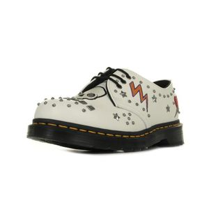 DERBY Chaussures Dr Martens 1461 White Smooth