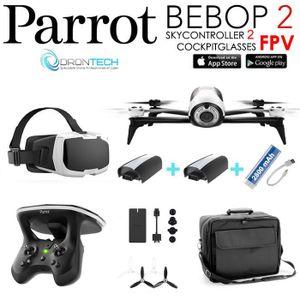 Commander drone dji phantom kit complet et avis parrot ar.drone 2.0 elite
