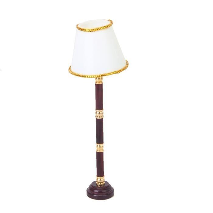 Fil 12 Exploité Poupée Lampe Blanc Led 1 Interrupteur Lumière De Sans Plancher Miniature Maison qSGzLpjUMV
