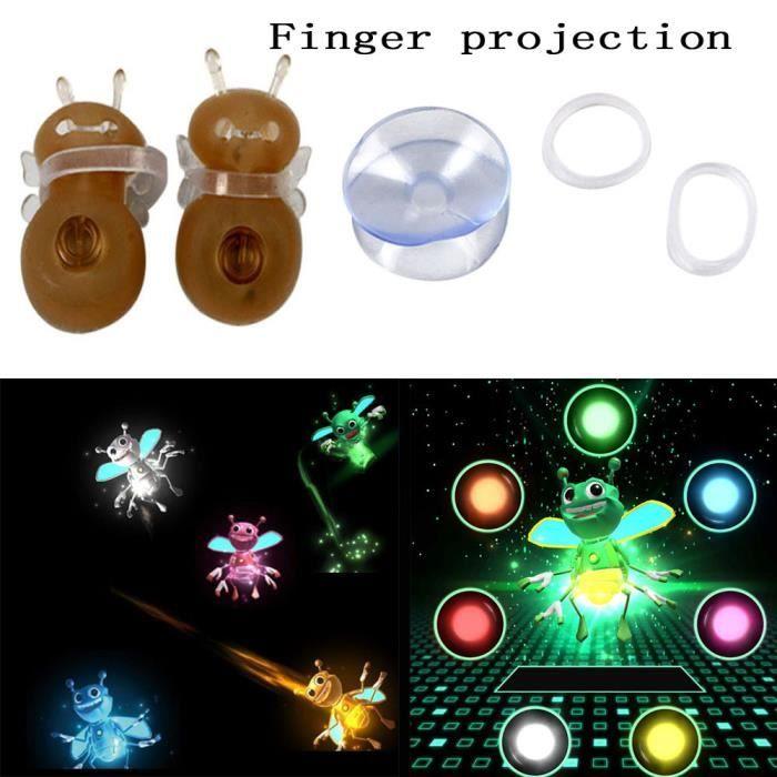 JEU MAGIE lumières magiques magie Finger Tricks Projection H