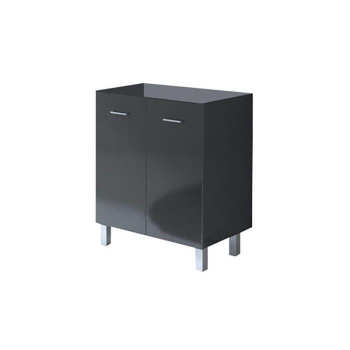 bloc meuble graphite new york largeur 70 cm