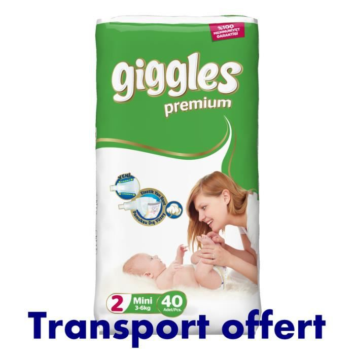 Giggles Taille 2 3 6kg X 200 Couches Achat Vente Couche