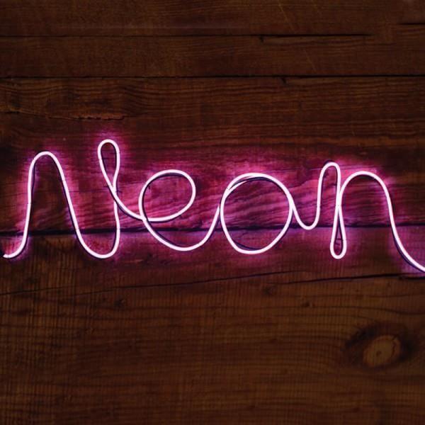lampe neon achat vente lampe neon prix de folie. Black Bedroom Furniture Sets. Home Design Ideas