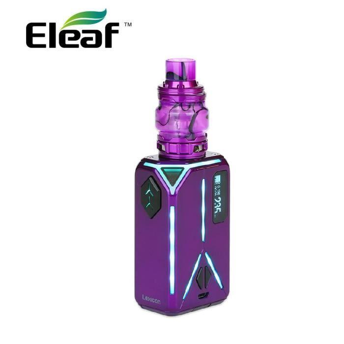 CIGARETTE ÉLECTRONIQUE E-Cigaret Kit Eleaf Lexicon 235W TC avec ELLO Duro
