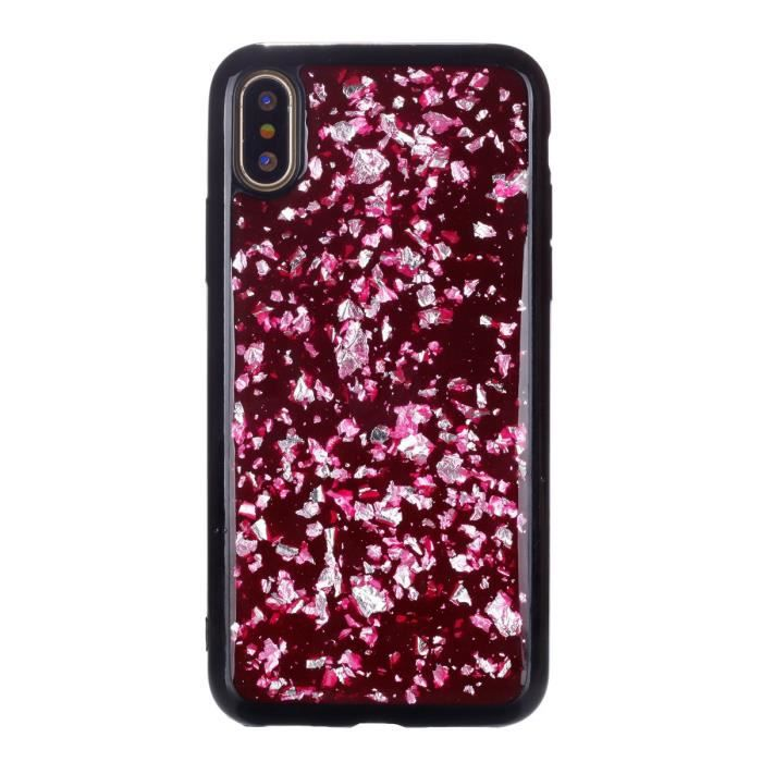 coque iphone x silicone glitter