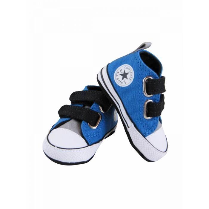 6dd92f51404e8 CONVERSE - Baskets bébé fille bl… Bleu - Achat   Vente basket ...