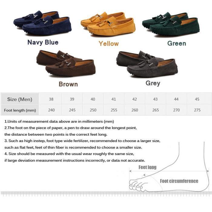 Casual chaussures en cuir pour homme Peas