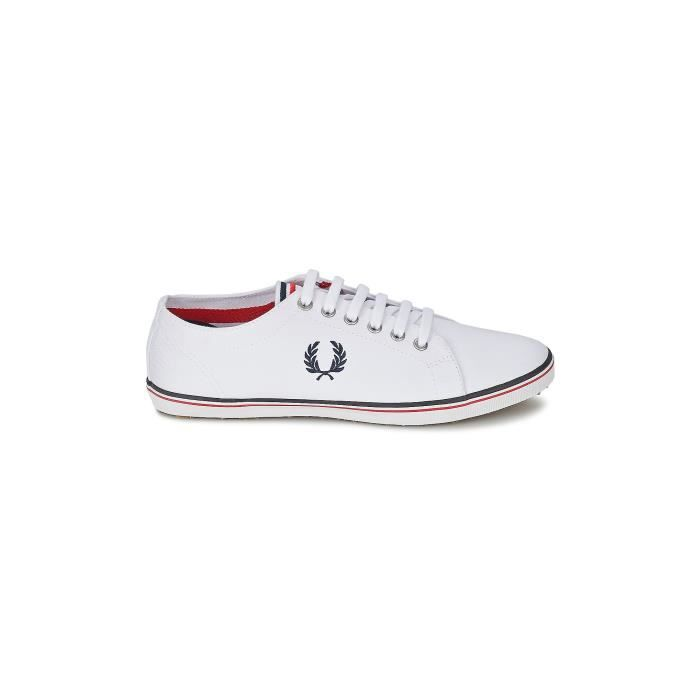 CHAUSSURES FRED PERRY KINGSTON BLANC