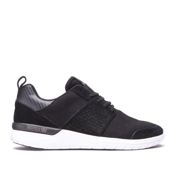Chaussures SUPRA SCISSOR Black charcoal
