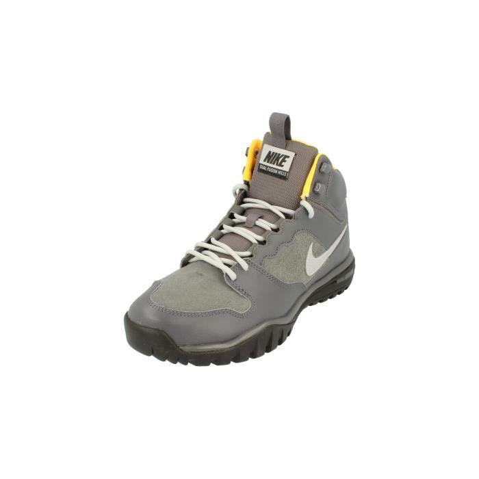 sports shoes dd7d4 72b60 BASKET Nike Dual Fusion Hills Mid Leather Hommes Hi Top T
