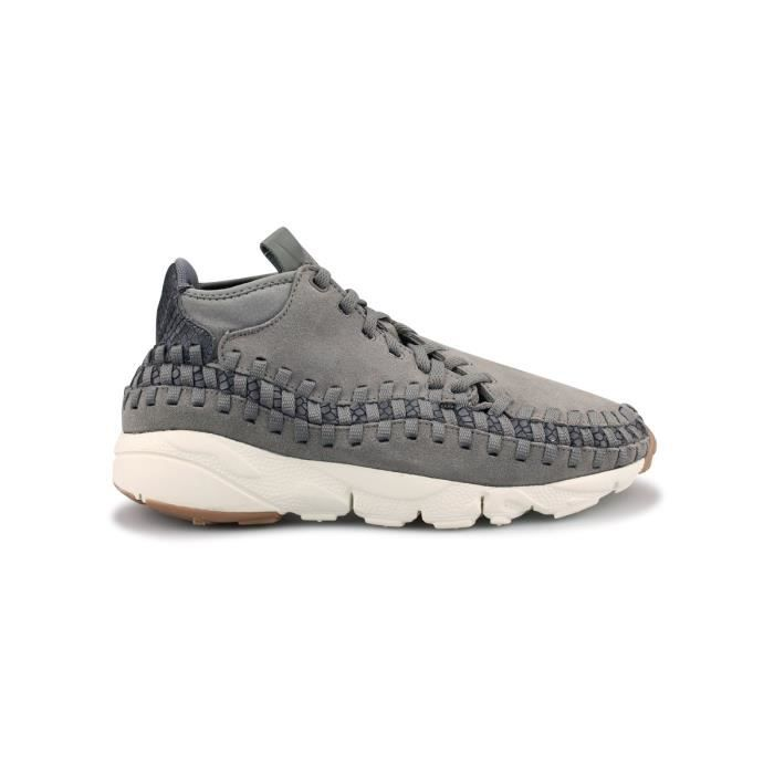 purchase cheap 8ef24 0640f Basket Nike Air Footscape Woven Chukka Gris 446337-003