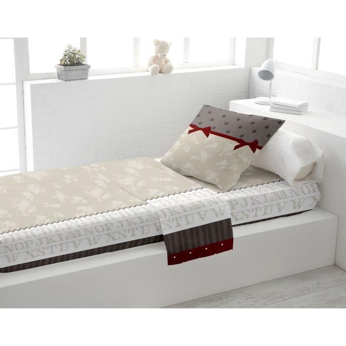 parure de lit 1 personne achat vente pas cher cdiscount. Black Bedroom Furniture Sets. Home Design Ideas
