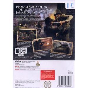 Call of Duty : WWII sur PS4 est un jeu d'action FPS du studio Sledgehammer Games. Pour cet opus, les développeurs ont opéré un retour aux sources de la saga en traitant la période historique ...