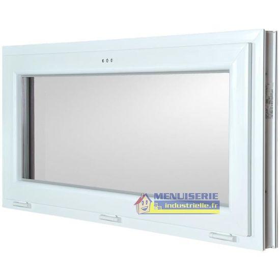 Fenêtre Abattant Pvc H60 X L120 Cm Achat Vente Fenêtre