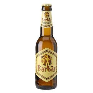 BIÈRE Barbar Blonde au miel 8° 33 cl 6 x 33 cl