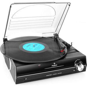 PLATINE VINYLE auna 928 Platine vinyle avec haut-parleurs stéreo