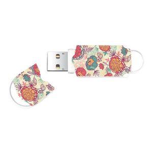 DISQUE DUR SSD Integral Xpression Floral Clé USB 64 Go USB 2.0