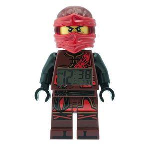 RÉVEIL ENFANT Réveil LEGO KAI NINJAGO Rouge 740575