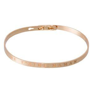 BRACELET - GOURMETTE Mes-bijoux.fr - Bracelet à message