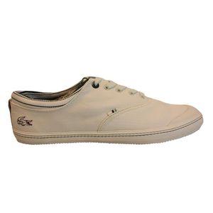 Chaussure lacoste Fairlead 118 blanc et vert. Blanc Blanc - Achat / Vente basket  - Soldes* dès le 27 juin ! Cdiscount