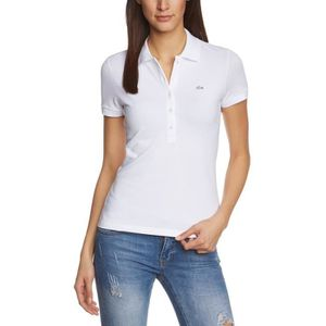 POLO Lacoste Femme Polo Manches Courtes Skinny Fit