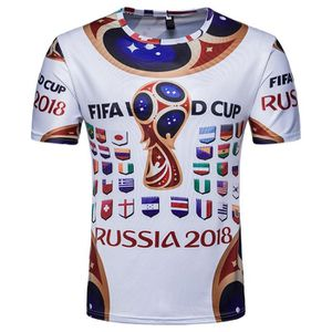 T-SHIRT Whatlees T-Shirt Homme Slim Fit FIFA Football Coup bd22deb2403d