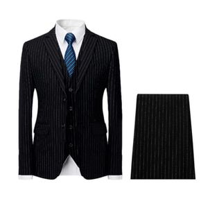 15352db35deb COSTUME - TAILLEUR Costume homme 3 pieces à rayures Mariage Smoking m
