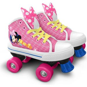 ROLLER IN LINE DISNEY MINNIE Patins à roulettes Quad - Taille 28