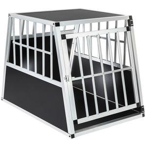 CAISSE DE TRANSPORT Cage, caisse, box de transport pour chien en Alumi