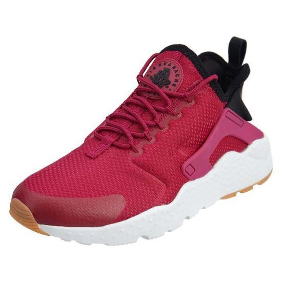 Nike Wmns Air Huarache Run Ultra, Sport Fuchsia - noir-gum jaune 3D8XMN Taille-38 Noir Noir - Achat / Vente basket