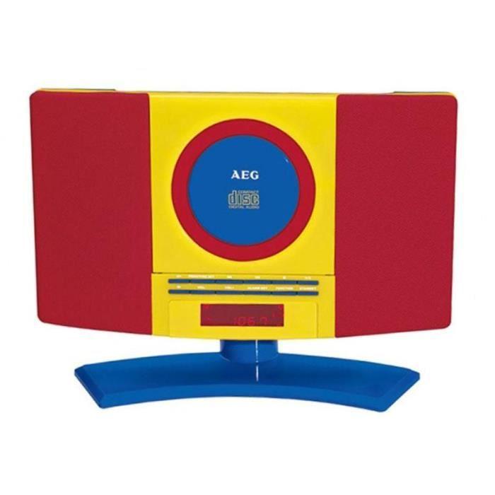 AEG MC 4464 Chaine audio pour enfants CD + Aux-In