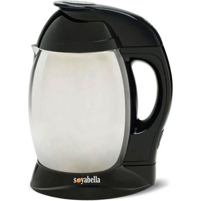 TRIBEST Appareil à laits végétaux Soyabella - Noir