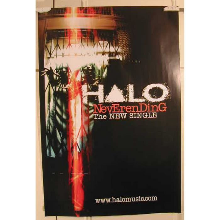halo poster achat vente halo poster pas cher cdiscount. Black Bedroom Furniture Sets. Home Design Ideas