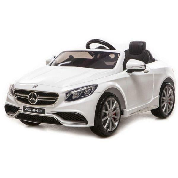 voiture electrique enfant mercedes s63 amg achat vente jeux et jouets pas chers. Black Bedroom Furniture Sets. Home Design Ideas