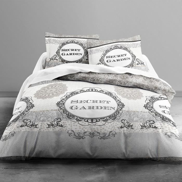 housse de couette romantique parure housse de couette en. Black Bedroom Furniture Sets. Home Design Ideas