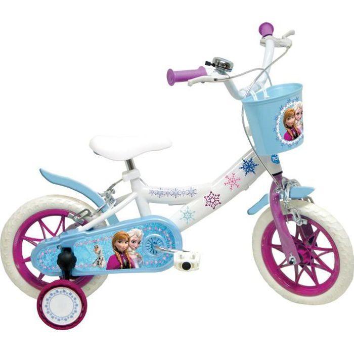 VÉLO ENFANT LA REINE DES NEIGES - Vélo Enfant 12 pouces (2 à 4