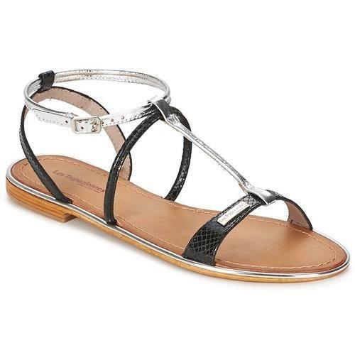 Sandale Les Achat Plate Vente Haquina Tropeziennes Noirargent iPukXZ