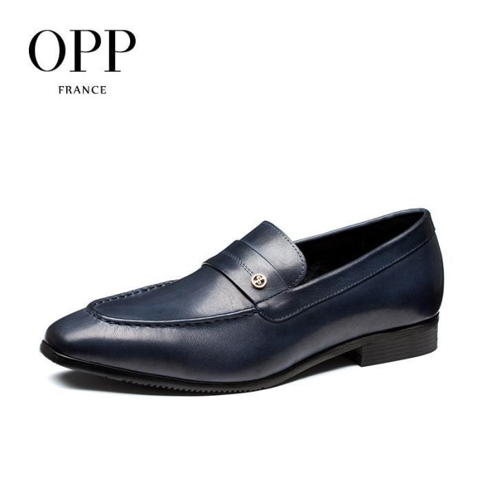 OPP Chaussures Richelieu Couleur - Noir OD0674bleu45