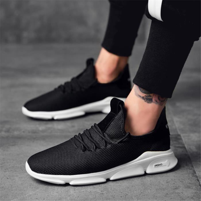 Personnalité Sneakers Chaussures Antidérapant Charmant Durable Homme Qualité Classique Basket Haut Respirant Aq5jL3R4