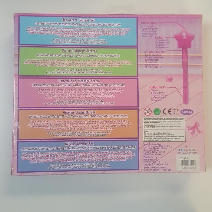 Ballerine Beauties Top Secret Journal Set B55IT
