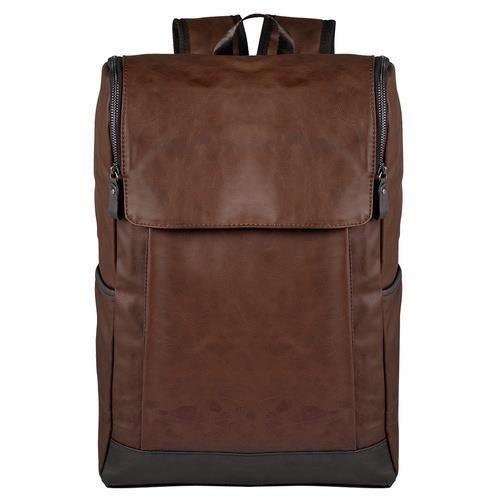 Version mise à jour Sac à dos de mode pour hommes daffaires, marron