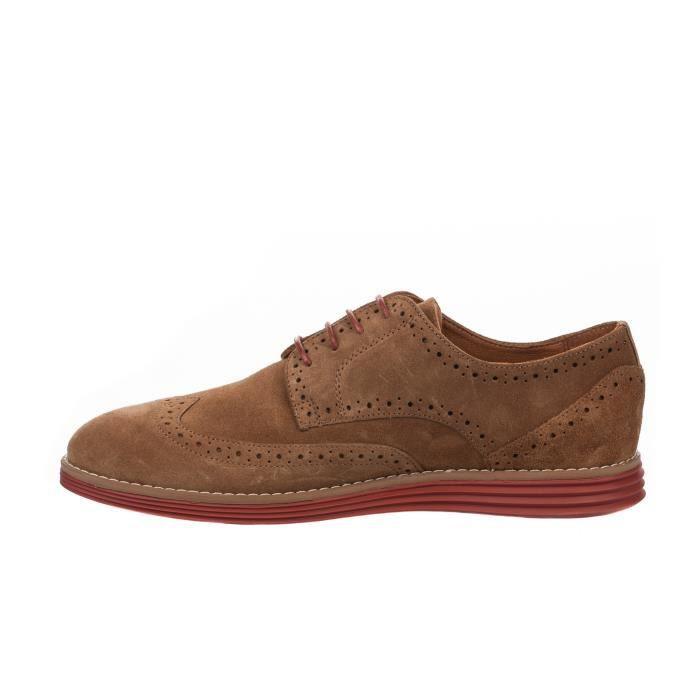 BROGUE homme à Marron Millim lacet PRISM SCHMOOVE Chaussures cognac 0BqSwx