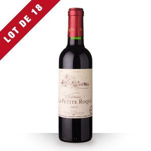 VIN ROUGE 18x Château la Petite Roque 2015 AOC Côtes de Bord