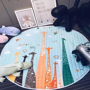 TAPIS DE JEU Tapis chambre d'enfant Tapis Salon Girafes Carpet
