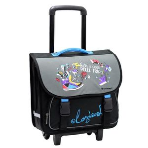 CARTABLE Cartable trolley scolaire Longboard Pixel Trip- 40