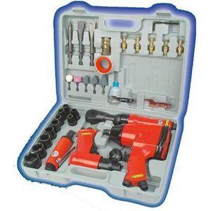 OUTIL MULTIFONCTIONS MANNESMANN Jeu de 33 outils pneumatiques M1503
