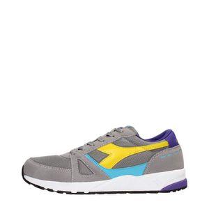 Diadora Sneakers Homme Gray ash dust  Gray ash dust - Achat / Vente basket  - Soldes* dès le 27 juin ! Cdiscount